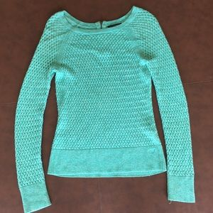 Teal blue American Eagle Sweater
